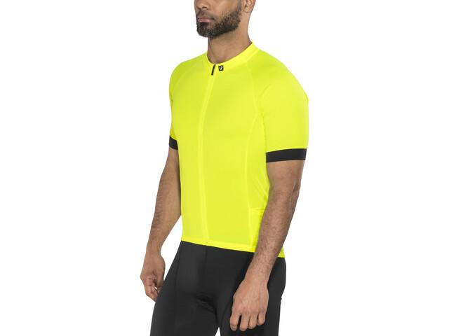 Bontrager Circuit Koszulka rowerowa z zamkiem błyskawicznym Mężczyźni, visibility yellow